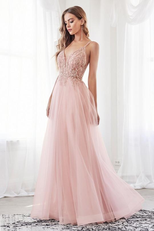 Cinderella 0154. Rose, Blå eller Champagne