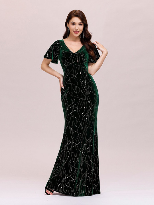 Frk Fie velvet green