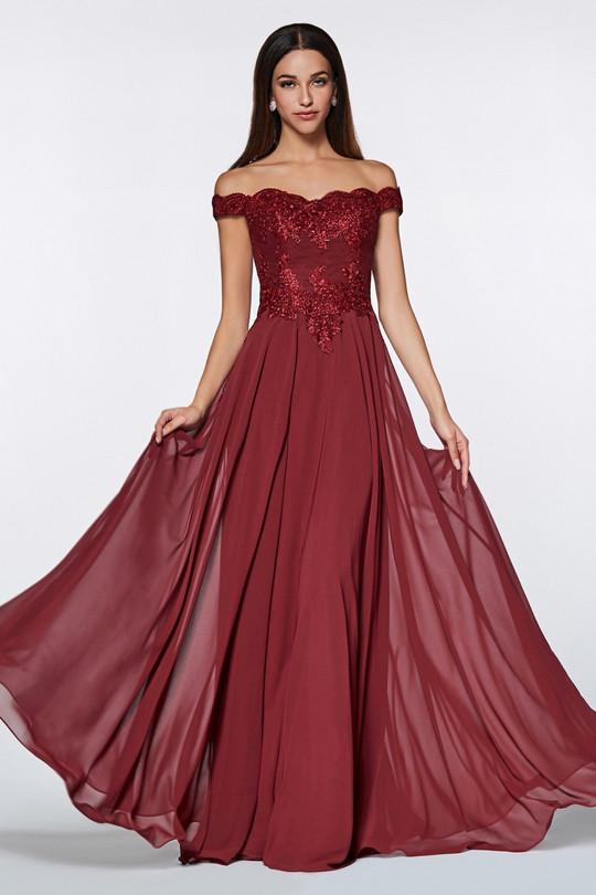 Cinderella 7258 - burgund