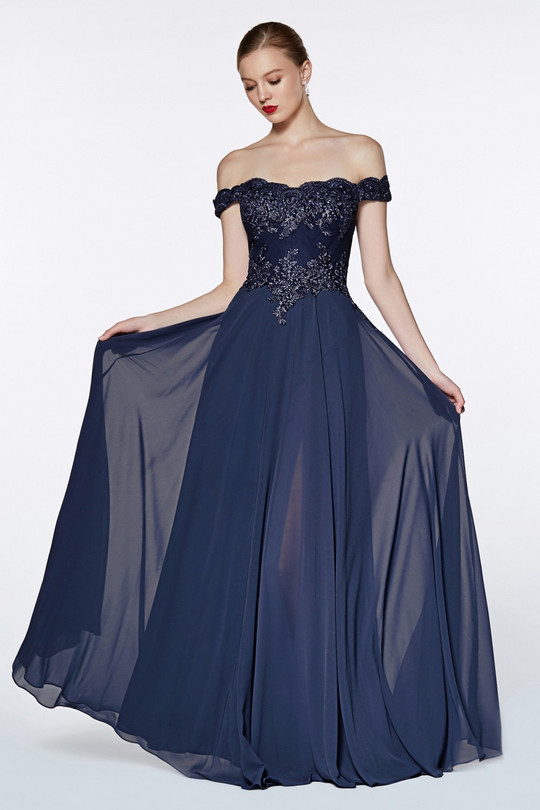 Cinderella 7258 - smoky blue
