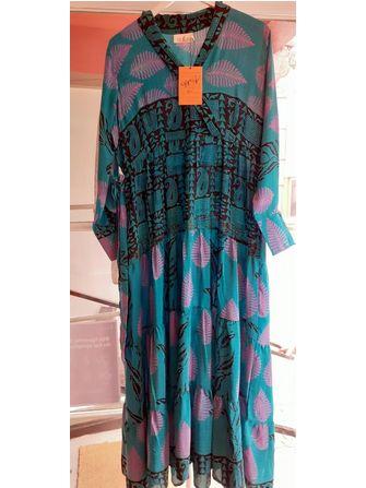 Cofur lang silk kjole - unika - Frk. Fie