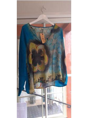 Cofur skjorte - silke Unika - Frk. Fie