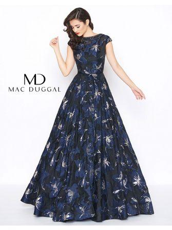 Tidssvarende Mac Duggal kjoler - eksklusivt mærke fra USA - designet af GY-32