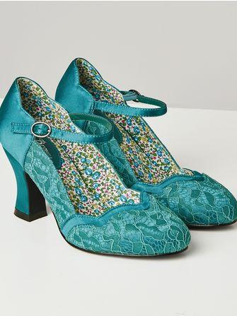 Joe Browns Vintage Lace Shoes - Frk. Fie