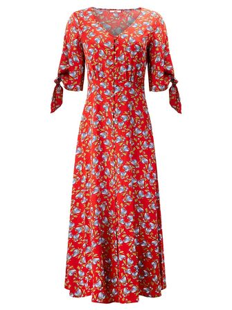 Joe Browns Button Through Vintage Dress - Frk. Fie