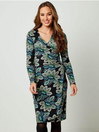 Joe Browns Flattering Wrap Style Dress - Frk. Fie