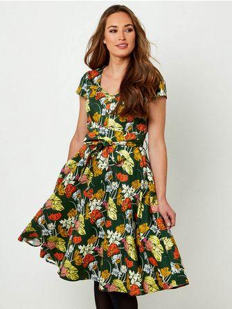 Joe Browns Fancy Full Skirt Dress - Frk. Fie